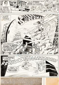 Original Comic Art:Panel Pages, Curt Swan and Murphy Anderson Action Comics #399 Page 1 Original Art (DC, 1971)....