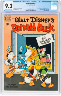 Four Color #282 Donald Duck (Dell, 1950) CGC NM- 9.2 Off-white to white pages