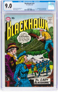 Silver Age (1956-1969):Superhero, Blackhawk #133 (DC, 1959) CGC VF/NM 9.0 Cream to off-whitepages....