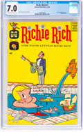 Silver Age (1956-1969):Humor, Richie Rich #1 (Harvey, 1960) CGC FN/VF 7.0 Off-white to white pages....