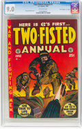 "Golden Age (1938-1955):War, Two-Fisted Annual #1 Davis Crippen (""D"" Copy) Pedigree (EC, 1952) CGC VF/NM 9.0 Off-white pages...."