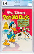 Golden Age (1938-1955):Funny Animal, Four Color #203 Donald Duck (Dell, 1948) CGC NM 9.4 Off-whitepages....