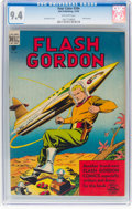 Golden Age (1938-1955):Science Fiction, Four Color #204 Flash Gordon (Dell, 1948) CGC NM 9.4 Off-white pages....