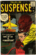 Silver Age (1956-1969):Science Fiction, Tales of Suspense #4 (Marvel, 1959) Condition: FN-....
