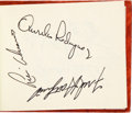 Baseball Collectibles:Others, 1970's Baseball Greats Signed Autograph Albums Lot of 5 with Over 1,300 Autographs. ...