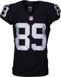 Football Collectibles:Uniforms, 2015 Amari Cooper Game Issued Oakland Raiders Jersey....