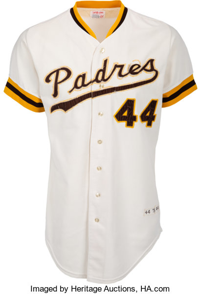 best service 5f7f0 0622c 1975 Willie McCovey Game Worn San Diego Padres Jersey ...