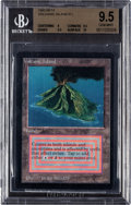Memorabilia:Trading Cards, Magic: The Gathering Beta Edition Volcanic Island BGS 9.5 (Wizardsof the Coast, 1993)....
