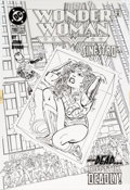 Original Comic Art:Covers, John Byrne Wonder Woman #110 Cover Original Art (DC, 1996)....