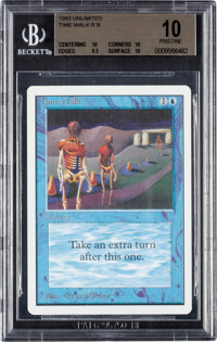 Magic: The Gathering Unlimited Edition Time Walk BGS 10 (Wizards of the Coast, 1993)