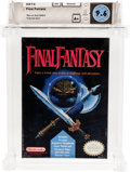 Video Games:Nintendo, Final Fantasy (NES, Nintendo, 1990) Wata 9.6 A+ (Seal Rating)....