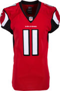 Football Collectibles:Uniforms, 2012 Julio Jones Game Issued Atlanta Falcons Jersey....