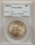 Commemorative Silver, 1936 50C Albany MS65 PCGS. PCGS Population: (1582/1165). NGC Census: (1223/701). CDN: $220 Whsle. Bid for problem-free NGC/...