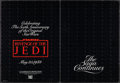 """Movie Posters:Science Fiction, Revenge of the Jedi (20th Century Fox, 1982). Folded, Very Fine. Promotional Mailer (Folded: 11"""" X 15"""", Unfolded: 22"""" X 15"""")..."""
