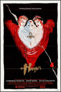 Movie Posters:Horror, The Hunger (MGM/UA, 1983). Folded, Very Fine. One ...