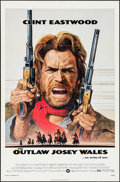 "Movie Posters:Western, The Outlaw Josey Wales (Warner Brothers, 1976). Folded, Very Fine. One Sheet (27"" X 41"") Roy Andersen Artwork. Western.. ..."