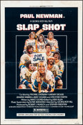 "Movie Posters:Sports, Slap Shot (Universal, 1977). Folded, Fine+. One Sheet (27"" X 41"") Style A, Craig Nelson Artwork. Sports.. ..."
