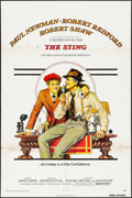 "Movie Posters:Crime, The Sting (Universal, 1973). Folded, Fine+. One Sheet (27"" X 41""). Richard Amsel Artwork. Crime.. ..."