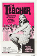 "Movie Posters:Sexploitation, The Teacher (Crown International, 1974). Folded, Fine/Very Fine.One Sheet (27"" X 40.75""). Sexploitation.. ..."