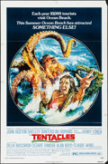 Movie Posters:Horror, Tentacles (American International, 1977). Folded, Fine/Ver...