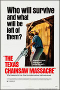 """Movie Posters:Horror, The Texas Chainsaw Massacre (Bryanston, 1974). Folded, Very Fine+. One Sheet (27"""" X 41""""). Horror.. ..."""