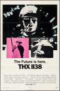 Movie Posters:Science Fiction, THX 1138 (Warner Brothers, 1971). Folded, Very Fine-.