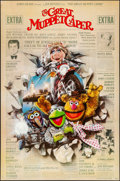 """Movie Posters:Comedy, The Great Muppet Caper (Universal, 1981). Folded, Fine/Very Fine. One Sheet (27"""" X 41""""). Comedy.. ..."""