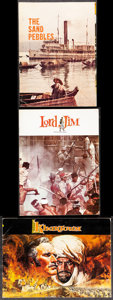Movie Posters:War, The Sand Pebbles & Other Lot (20th Century Fox, 1966). Ver...