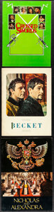 Movie Posters:Drama, Becket & Other Lot (Paramount, 1964). Very Fine. P...
