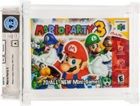 Mario Party 3 (N64, Nintendo, 2000) Wata 9.2 A (Seal Rating)