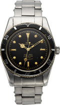 Timepieces:Wristwatch, Tudor, Very Rare and Fine Ref. 7922, Oyster Prince Submariner,Early Series, Circa 1954. ...