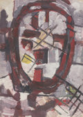 Post-War & Contemporary:Contemporary, Vladimir Yakovlev (1934-1998). Untitled, 1969. Gouache onpaper. 33-1/2 x 24 inches (85.1 x 61.0 cm). Signed in Cyrillic...