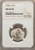Standing Liberty Quarters: , 1929-S 25C MS66 Full Head NGC. NGC Census: (86/30). PCGS Population: (160/19). MS66. Mintage 1,764,000. ...