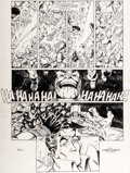 Original Comic Art:Panel Pages, George Pérez and Joe Rubinstein Infinity Gauntlet #4 Page 8 Original Art (Marvel, 1991)....