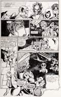 Original Comic Art:Panel Pages, George Pérez and Joe Rubinstein Infinity Gauntlet #4 Page 7 Original Art (Marvel, 1991)....