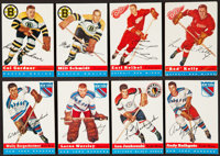 1954 Topps Hockey Partial Set (32/60) With HoFers
