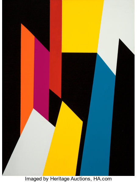 Salvador Corratgé (1928-2014)MosaicAcrylic on canvas39-3/4 x 29-3/4 inches (101.0 x 75.6 cm)Signed twice and tit...
