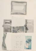 Prints & Multiples:Print, Robert Rauschenberg (1925-2008). Two Reasons Birds Sing, 1979. Screenprint in colors with collage on wove paper. 30-1/8 ...