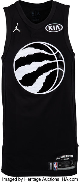 buy popular f80b0 6e746 2018 Kyle Lowry Game Worn NBA All-Star Game Team LeBron ...