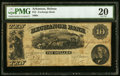 Obsoletes By State:Arkansas, Helena, AR- Exchange Bank $10 Sept. 2, 1861 Rothert 279-2 PMG Very Fine 20.. ...