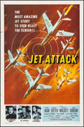 Movie Posters:War, Jet Attack & Other Lot (American International, 1958). Fol...