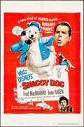 Movie Posters:Comedy, The Shaggy Dog (Buena Vista, 1959). Folded, Very Fine-.