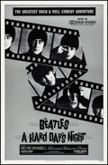 "Movie Posters:Rock and Roll, A Hard Day's Night (Universal, R-1982). Rolled, Very Fine. OneSheet (27"" X 41""). Rock and Roll.. ..."