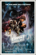 """Movie Posters:Science Fiction, The Empire Strikes Back (20th Century Fox, 1980). Folded, VeryFine+. One Sheet (27"""" X 41"""") Style A, Roger Kastel Art..."""