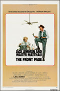 "Movie Posters:Comedy, The Front Page & Other Lot (Universal, 1974). Folded, VeryFine. One Sheets (2) (27"" X 41""). Berney Lettick Artwork.Comedy.... (Total: 2 Items)"