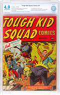 Golden Age (1938-1955):Superhero, Tough Kid Squad Comics #1 (Timely, 1942) CBCS VG 4.0 Cream to off-white pages....
