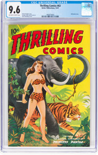 Thrilling Comics #63 (Better Publications, 1947) CGC NM+ 9.6 Off-white to white pages