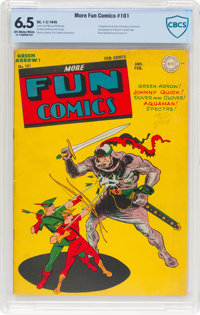 More Fun Comics #101 (DC, 1945) CBCS FN+ 6.5 Off-white to white pages
