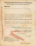 Autographs:U.S. Presidents, Andrew Jackson Letters Patent Signed... (Total: 2 )