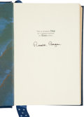 Autographs:U.S. Presidents, Ronald Reagan Signed Copy of Speaking My Mind: SelectedSpeeches. ...